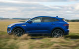 Jaguar E-Pace review side profile