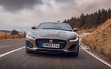 Jaguar F-Type 2020 road test review - on the road front