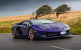 Lamborghini Aventador SVJ 2019 road test review - on the road front