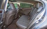 Lexus ES 2019 road test review - rear seats