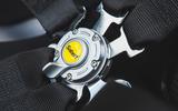 McLaren Senna 2018 road test review - harnesses