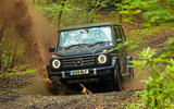 Mercedes-Benz G-Class 2019 road test review - splash
