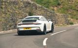 30 Porsche 911 GT3 2021 RT cornering rear