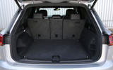 Volkswagen Touareg 2018 road test review boot seats up