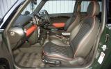 Mini JCW Championship 50 interior