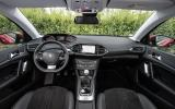 Peugeot 308 Allure dashboard