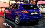 Peugeot reveals warm 308 GT at Paris motor show
