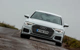 Audi A6 Avant 2018 road test review - on the road nose
