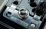 Bentley Continental GT 2018 Autocar road test review start button