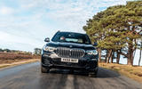 BMW X5 2018 road test review - on the road nose
