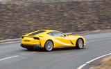 Ferrari 812 Superfast 2018 road test review cornering rear