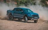 Ford Ranger Raptor 2019 road test review - dust front
