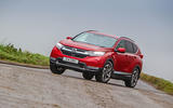 Honda CR-V 2018 road test review - cornering front
