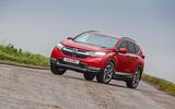 Honda CR-V 2018 road test review - cornering front