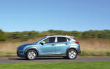 Hyundai Kona Electric 2018 road test review - on the road side