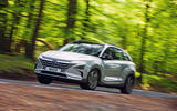 Hyundai Nexo 2019 road test review - on the road front