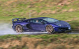 Lamborghini Aventador SVJ 2019 road test review - spray