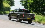 Mercedes-Benz X-Class road test review cornering rear