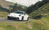 31 Porsche 911 GT3 2021 RT cornering front