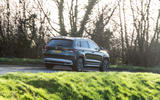 Skoda Karoq Scout 2019 road test review - cornering rear