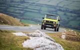 Suzuki Jimny 2018 road test review - cornering front
