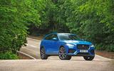 Jaguar F-Pace SVR 2019 road test review - static