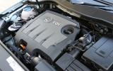1.6-litre TDI Volkswagen Passat engine