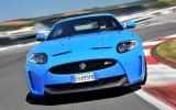 Jaguar XKR-S cornering