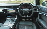 Audi RS6 Avant 2020 road test review - dashboard