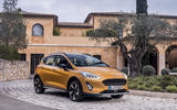 Ford Fiesta Active 2018 road test review static front