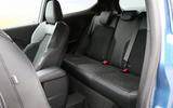 Ford Fiesta ST 2018 road test review rear seats
