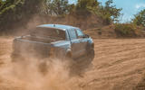 Ford Ranger Raptor 2019 road test review - dust rear
