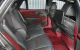 Lexus LS500h 2018 road test review rear seats