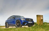 Mercedes-AMG GLC 63 S road test review static