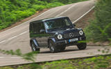 Mercedes-Benz G-Class 2019 road test review - cornering
