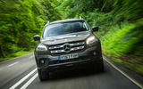 Mercedes-Benz X-Class road test review action