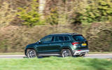 Skoda Karoq Scout 2019 road test review - on the road left