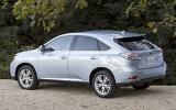 Lexus RX 450h rear quarter