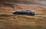 Aston Martin DBS Superleggera 2018 road test review - on the road side
