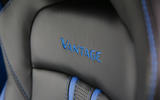 Aston Martin Vantage 2018 review seat stitching