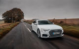 Audi A6 Avant 2018 road test review - on the road front