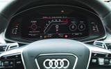 Audi RS6 Avant 2020 road test review - instruments