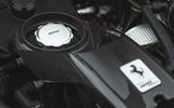 Ferrari 488 Pista 2019 road test review - engine oil cover