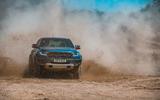 Ford Ranger Raptor 2019 road test review - mud front