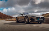 Jaguar F-Type 2020 road test review - on the road