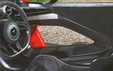 McLaren Senna 2018 road test review - doors inside