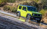 Suzuki Jimny 2018 road test review - wading