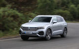 Volkswagen Touareg 2018 road test review on the road front