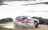 Alfa Romeo Stelvio Quadrifoglio 2019 road test review - splash