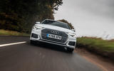 Audi A6 Avant 2018 road test review - on the road low